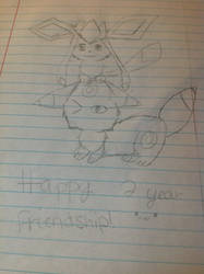 Two years??!!! owo