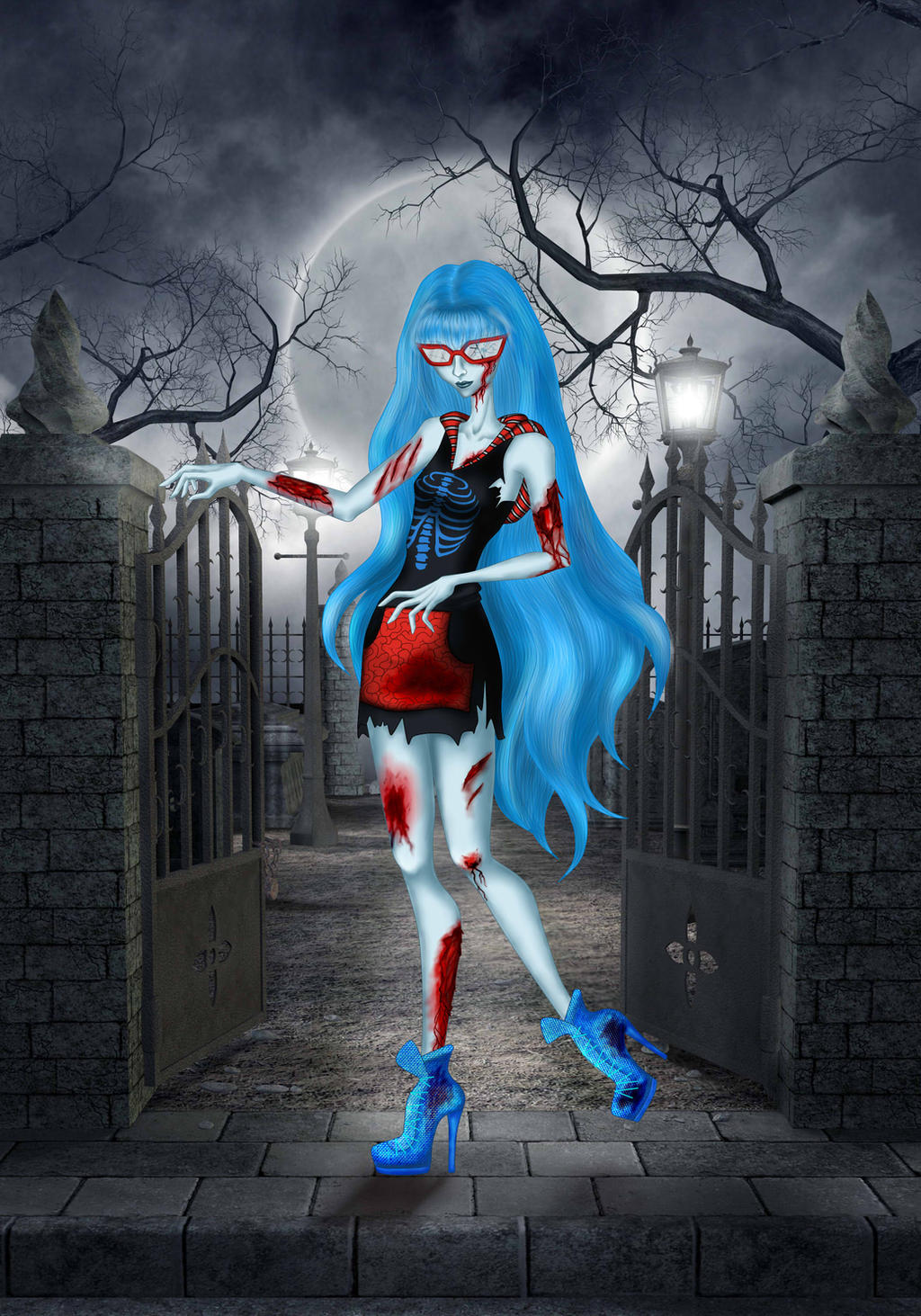 Monster high ghoulia yelps by lindanoul on deviantart - Monster high ghoulia yelps ...