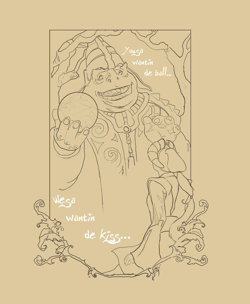 padme and the frog pencil by kittyscribbles d3ej8e7 Princess Margot & the Frog. Woodland Wisdom. Princess Florence