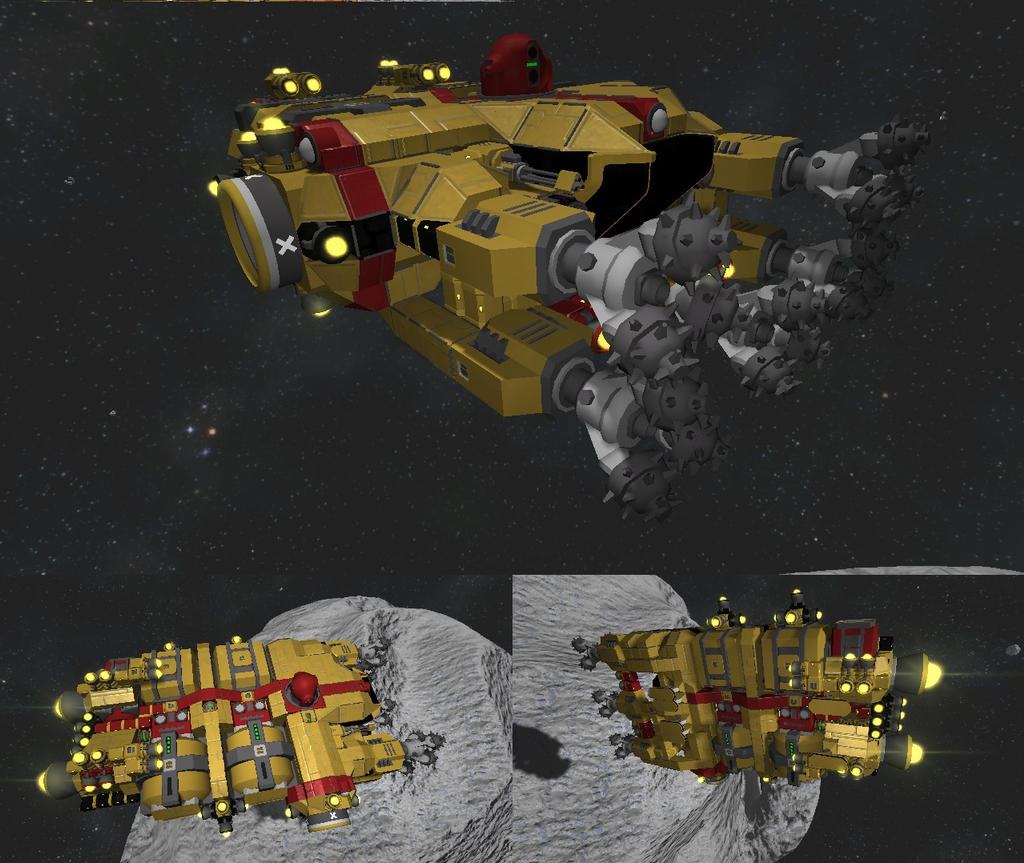 Se Hydrogen Powered Mining Ship By Mineraleater On Deviantart
