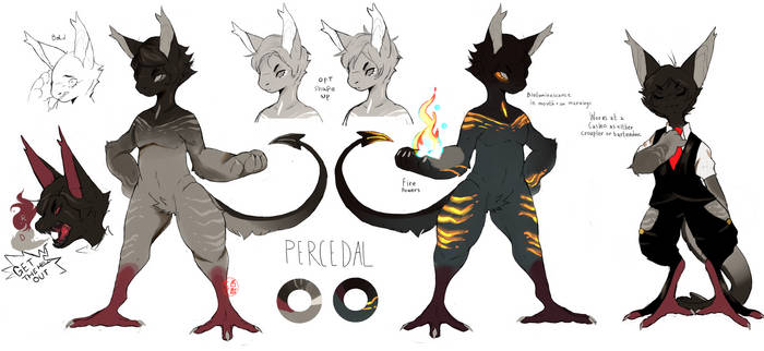 percedal  reference by dead-kaiju
