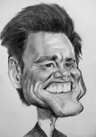 Jim Carrey by Mandala87