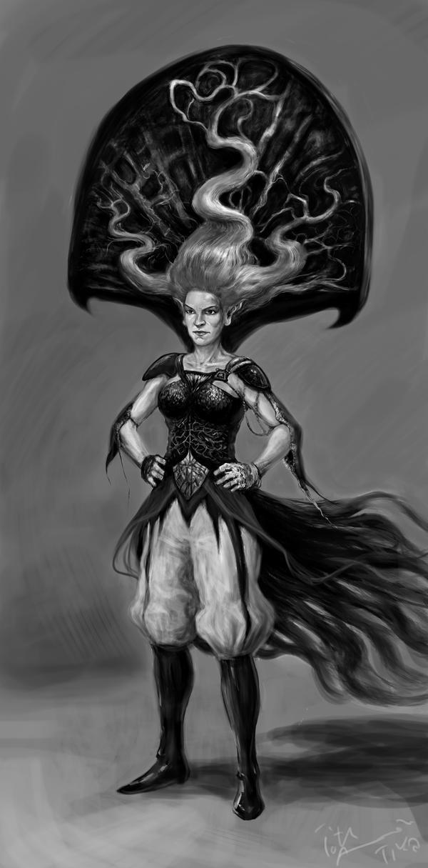 Peacockhead by Mandala87