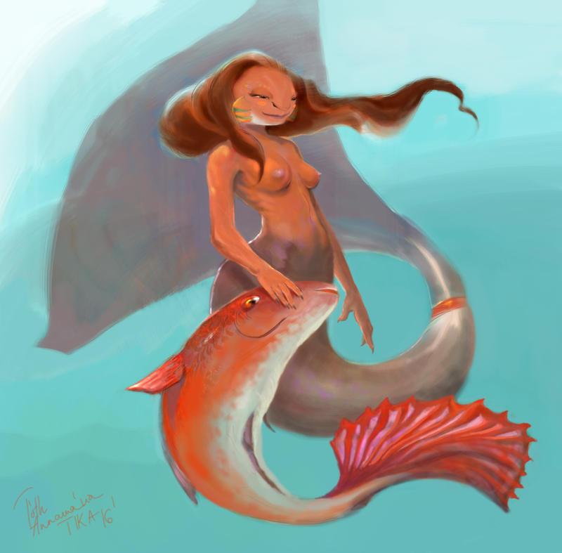 Mermaid by Mandala87