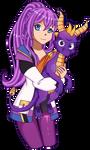 Purple Heroes by CristalMomoStar