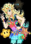 Rainbow Rosalina by CristalMomoStar