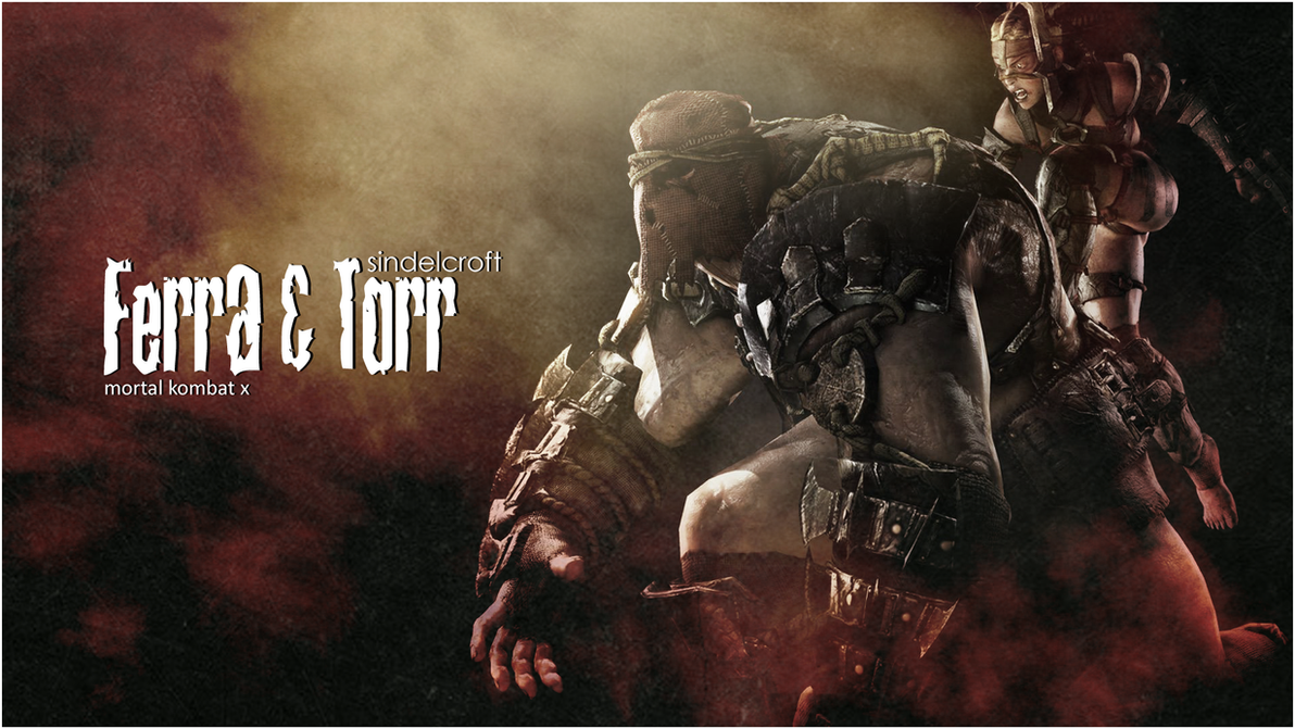 Ferra n Torr Wallpaper by LaravsDoppelganger
