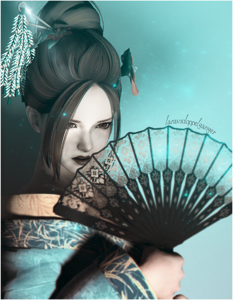 Geisha Kasumi by LaravsDoppelganger