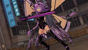 SFM Neptunia: Getting Serious