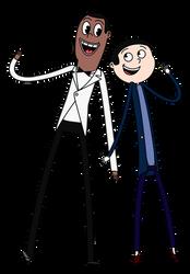 Donnick and Bopper by SmashupMashups