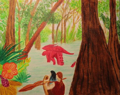 Journey Up The Rain Wilds