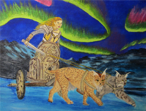 Freya and Cats