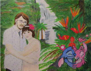 Engagement in Paradise