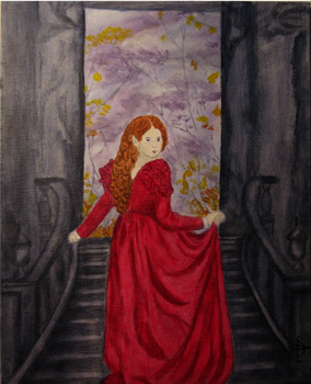 Elf Lady in Red