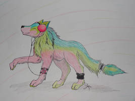Art Trade: Music to my ears by Cooliwolf