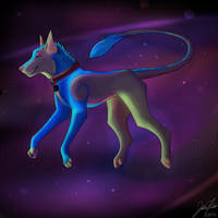 **Tilting Through The Stars, On An Axis** by Cooliwolf