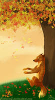 *-Autumn Breeze-* by Cooliwolf