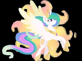 Princess Celestia by PrinceSketchy