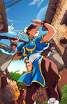 Chun Li Colored