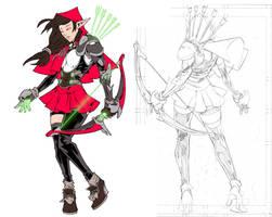 Elf - Work In Progress by edwinhuang
