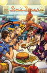 Street Fighter 25th Anniversary Diner