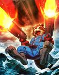 Rocket Raccoon 02 Marvel's War of Heroes Card Game