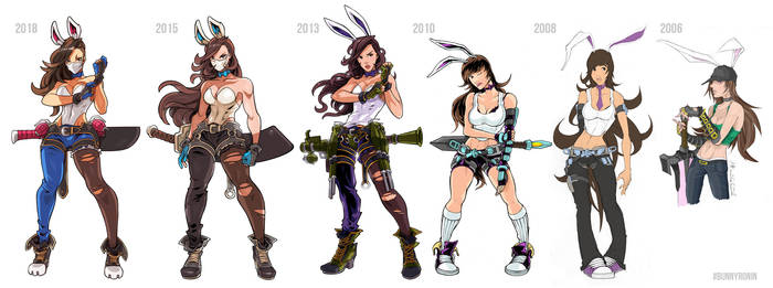 Character Design Throughout The Years