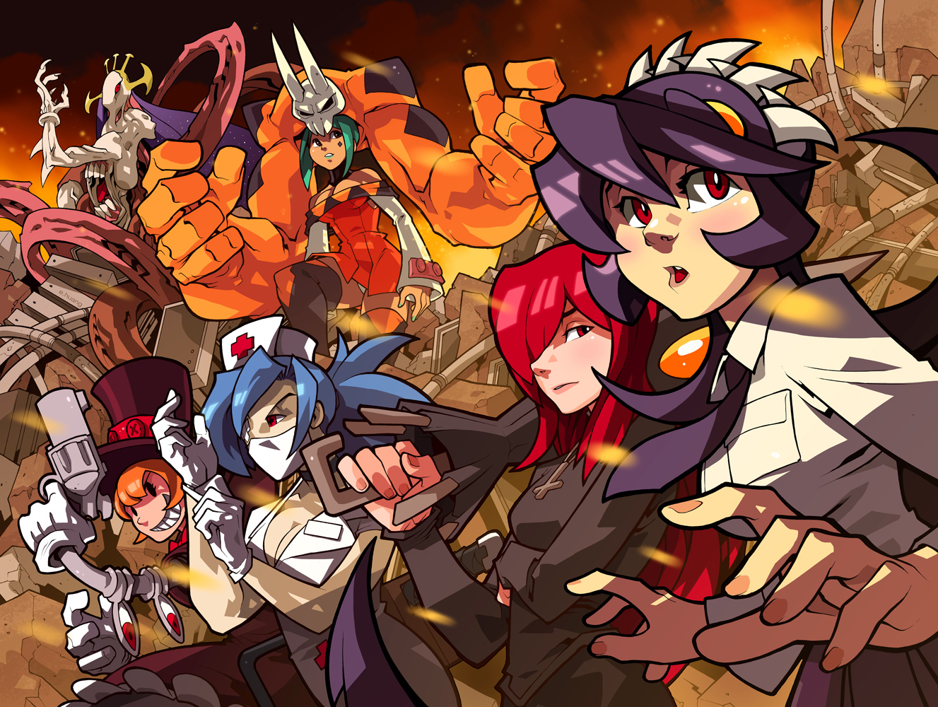 Skullgirls! by edwinhuang