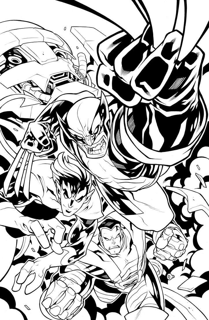 indiana jones and ghostrider coloring pages | Daily @deviantART Picks 08/14/2014 #Avengers #Supergirl # ...