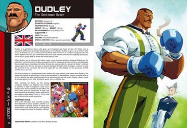 Street Fighter World Warrior Encyclopedia - Dudley