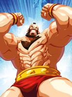 Zangief Street Fighter Encyclopedia Profile by edwinhuang
