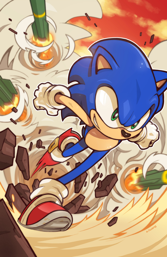 Sonic 272 Cover by edwinhuang