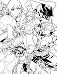 Capcom Fighting Tribute Inks