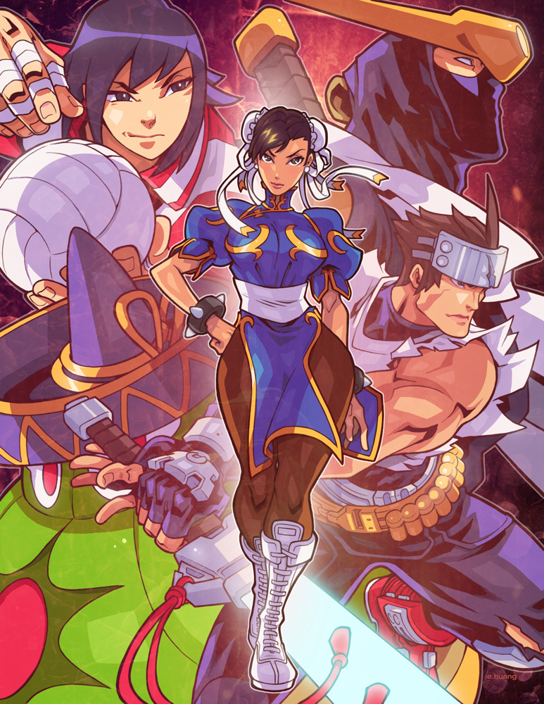 Capcom Fighting Tribute by edwinhuang
