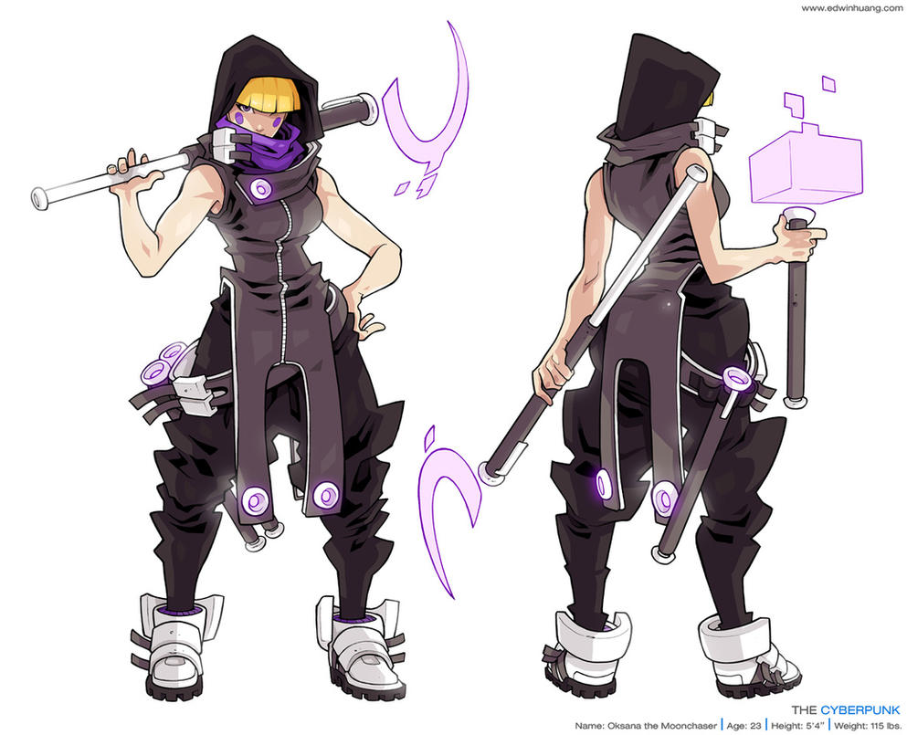 Character Design Study : Oksana character study by edwinhuang on deviantart