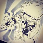 Kakashi Hatake Head Sketch Commission