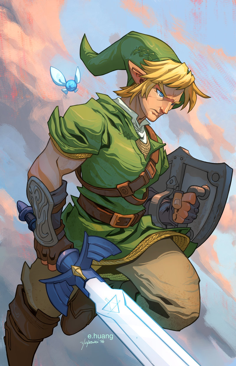 Link Colors by edwinhuang on DeviantArt