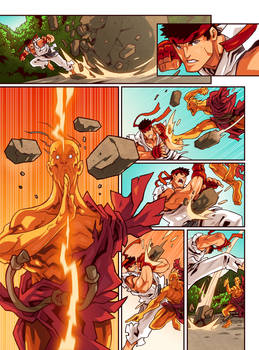 Street Fighter Unlimited Issue 5 - Preview 5