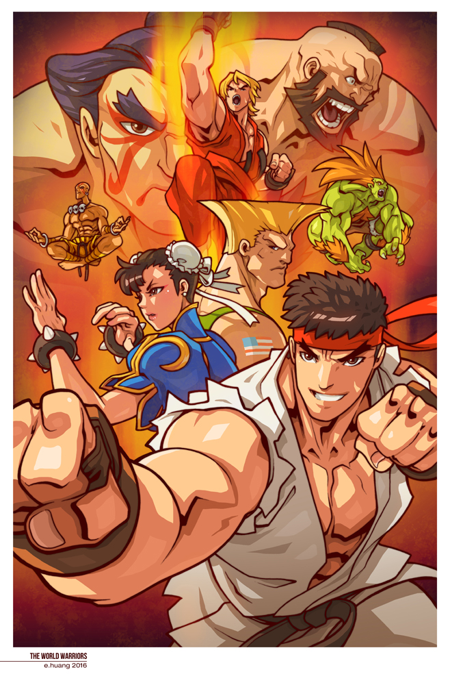 The World Warriors by edwinhuang