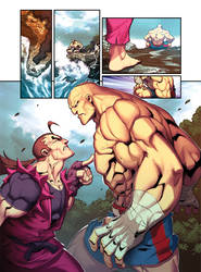Street Fighter Unlimited Issue 8