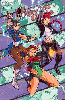 Street Fighter Legends #2 - Danger Girl Homage