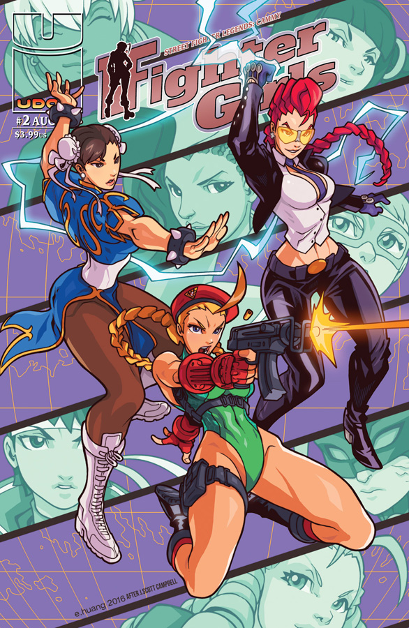 Street Fighter Legends #2 - Danger Girl Homage by edwinhuang