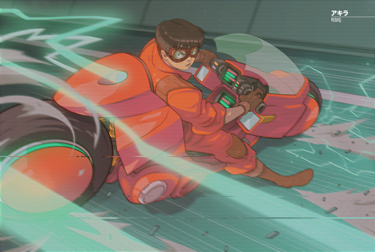 Kaneda (Retro Version) by edwinhuang