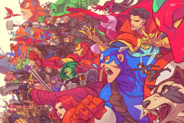 ASSEMBLE! by edwinhuang