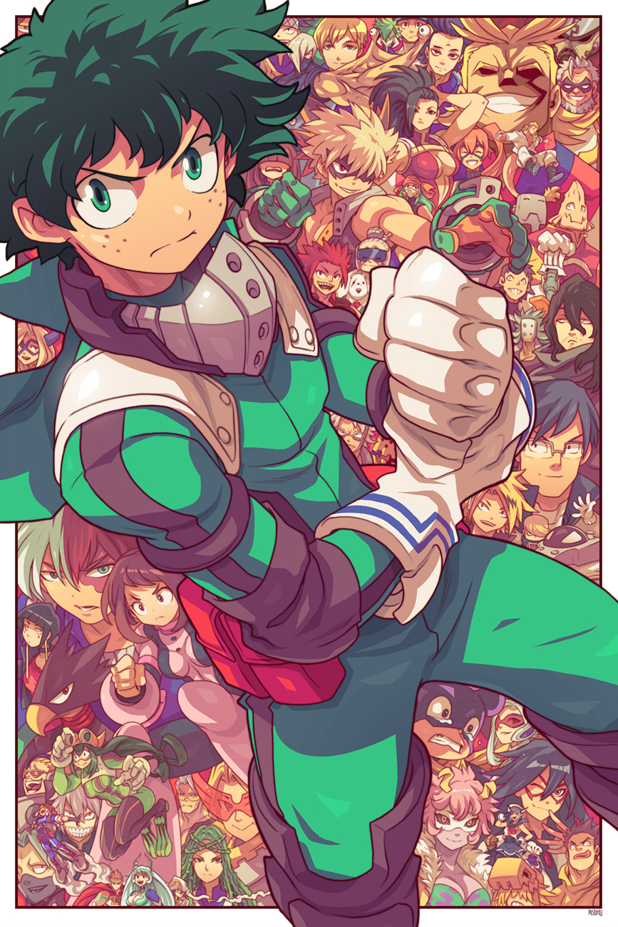 My Hero Academia by edwinhuang