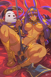 Nitocris by edwinhuang
