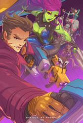 Guardians 2 by edwinhuang