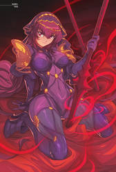 Scathach by edwinhuang