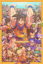 Dragon Ball Z Full Cast by edwinhuang