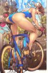 Chun Li Road Bike by edwinhuang